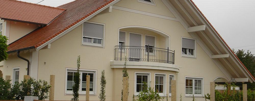 kaspar dach und fassadenbau referenzen fassade. Black Bedroom Furniture Sets. Home Design Ideas